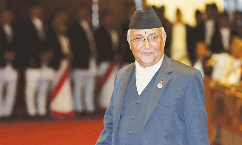بھارت مجھے اقتدار سے ہٹانے کی سازش کررہا ہے، نیپالی وزیراعظم