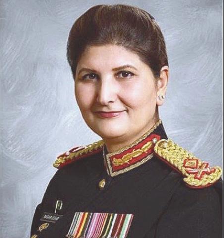 Lt Gen Nigar Johar.—APP