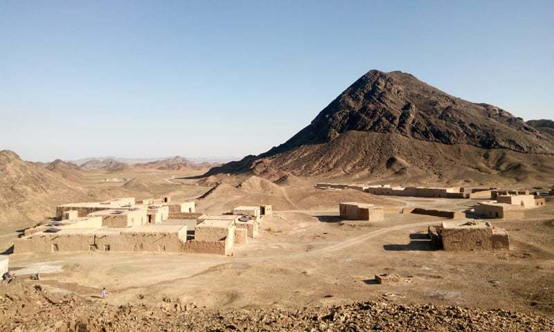 NoC issued for exploration and development of East Ore Body in Saindak lease area. — Photo by Muhammad Akbar Notezai/File