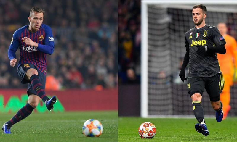 Barcelona and Juventus confirm Arthur, Pjanic swap deals