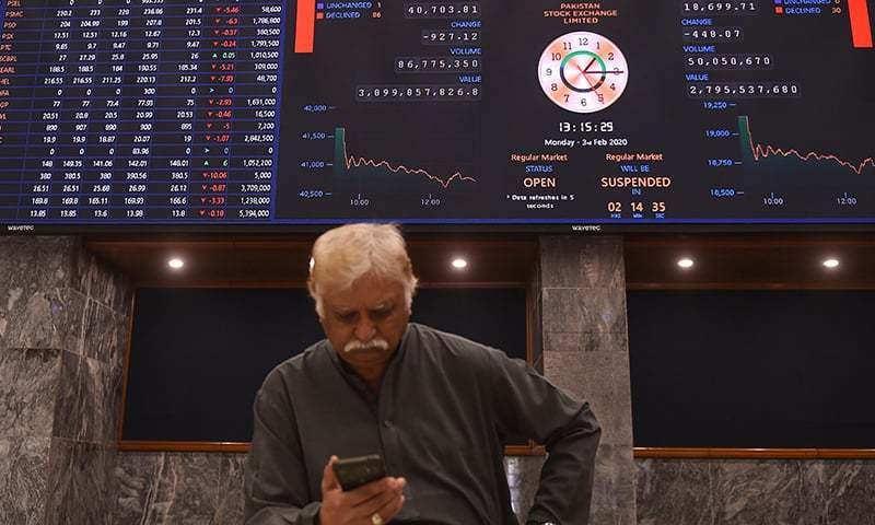 Foreigners sold shares worth $3.39 million and individuals also booked profit as they offloaded stocks of $4.62m. Insurance companies ploughed heavy sum of $6.45m in equities. — AFP/File