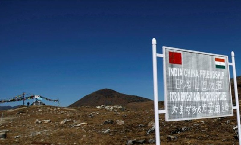 The documentary shows how the Chinese military defeated the Indian troops who had tried to invade Chinese territory along the border in October 1962. — AFP/File