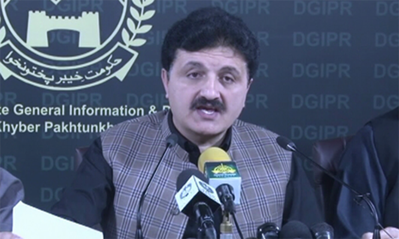 Wazir said the district administrations were playing active role in implementation of the SOPs devised by government to stem the spread of novel coronavirus. — DawnNewsTV/File
