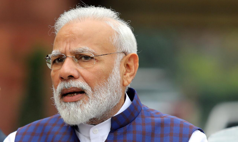 Modi was among a handful of foreign leaders with a Weibo account. — Reuters/File