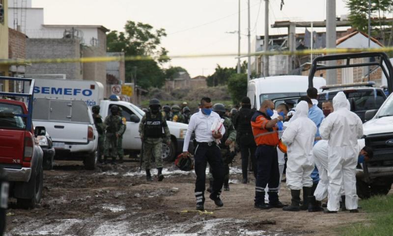 ریاستی پولیس کا کہنا تھا کہ بظاہر حملہ آوروں نے بحالی مرکز میں سب کو گولی ماری، کسی کو یرغمال نہیں بنایا گیا۔ اے پی:فائل فوٹو
