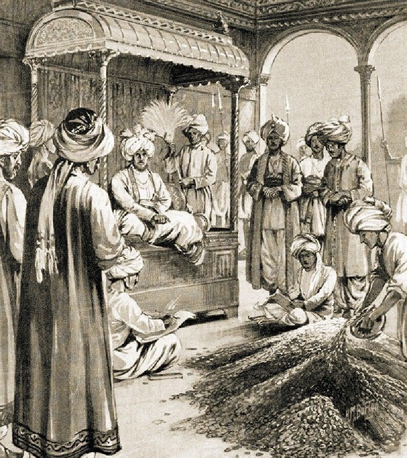 محمد بن تغلق نے چاندی کے بجائے تانبے کے سکّوں کو رائج کرنے کا حکم دیا