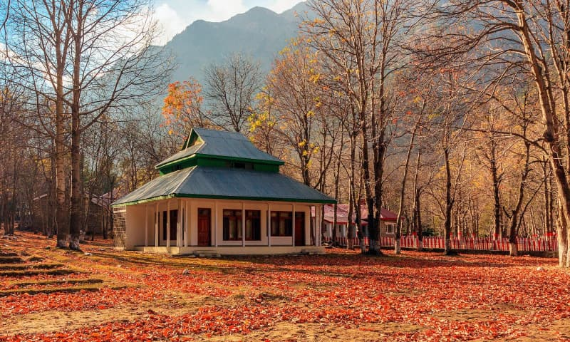 A PTDC motel in Naran Valley. — Photo by Syed Mehdi Bukhari/File