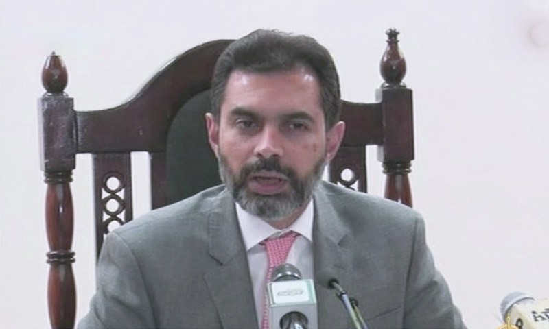 SBP's automation project is in collaboration with FBR and Pakistan Customs, says governor Reza Baqir. — DawnNewsTV/File