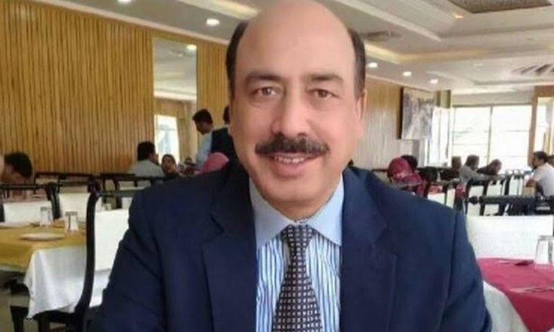 Former accountability judge Muhammad Arshad Malik. — DawnNewsTV/File