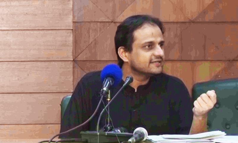 مرتضیٰ وہاب کے مطابق علی زیدی نے پوائنٹ اسکورنگ کے لیے واویلا مچایا — فوٹو: ڈان نیوز