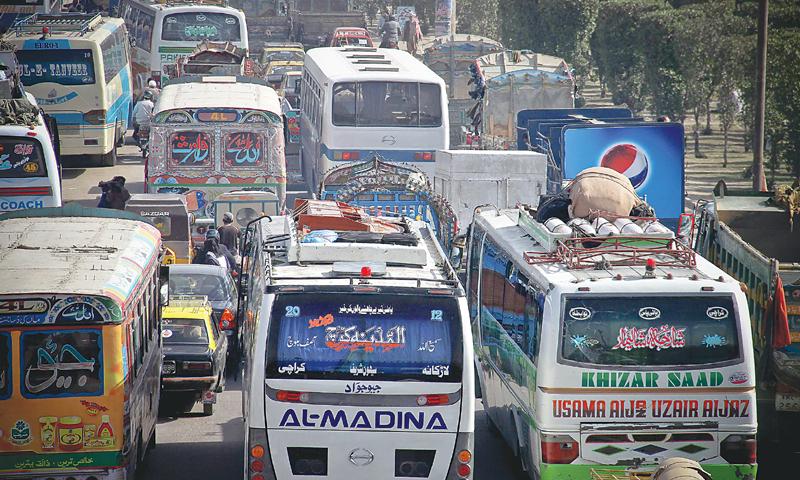 حکومت سندھ نے بین الاضلاع بس سروس بحال کرنے کی اجازت دے دی