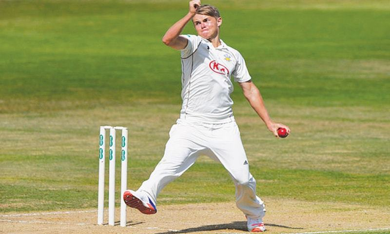 England all-rounder Sam Curran went into self-isolation in his room at the on-site hotel after overnight illness. — Dawn archives