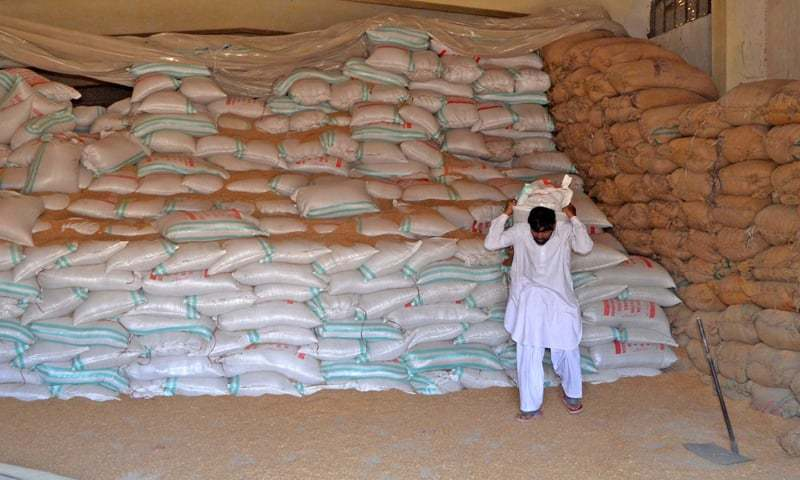 Say will continue selling flour at Rs1,055 per 20kg till demand met. — Dawn/File
