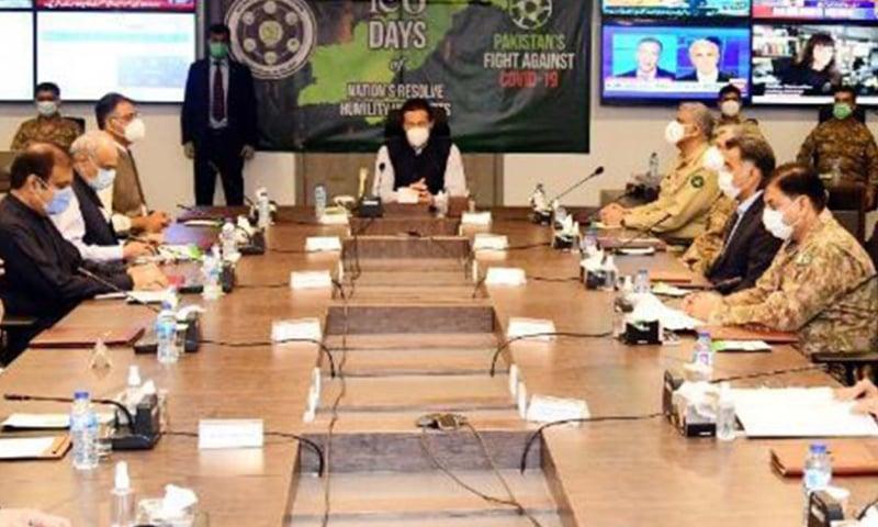 پاکستان کی برآمدات جولائی 2019 سے مئی 2020 کے دوران خطے کے دیگر ممالک سے بہت بہتر رہیں، بریفنگ — فوٹو: پی آئی ڈی