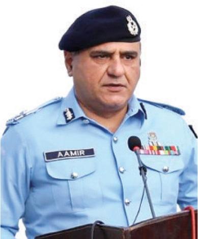 IGP Mohammad Aamir Zulfiqar Khan