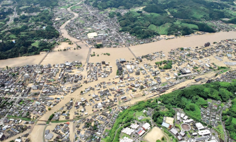 14 feared dead in nursing home as heavy rain lashes western Japan
