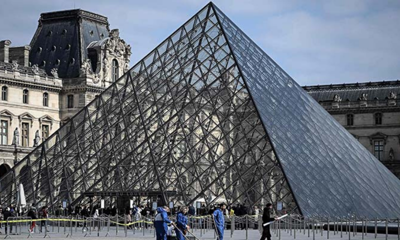 Visitors will have to wear masks, there will be no snacks or cloakrooms available and the public will have to follow a guided path through the museum. — AFP/File