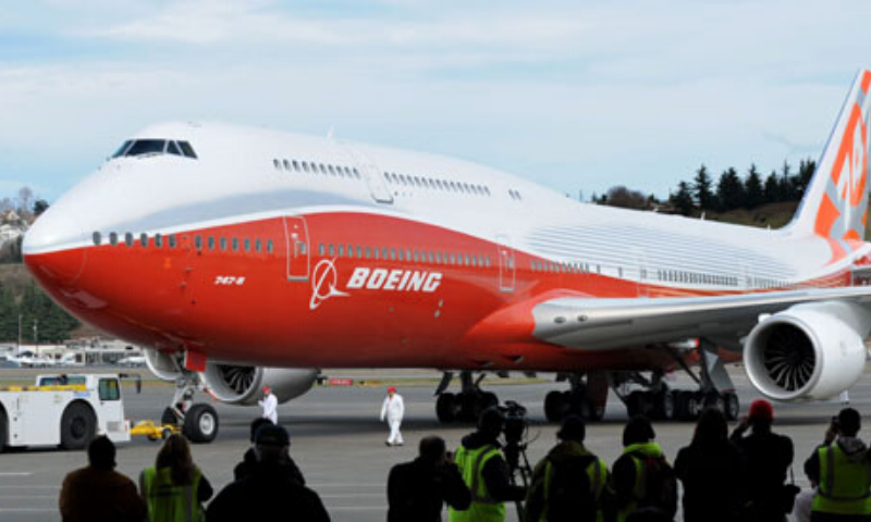 """At a build rate of 0.5 airplanes per month, the 747-8 programme has more than two years of production ahead of it in order to fulfill our current customer commitments,"" a Boeing spokesman said. — AFP/File"