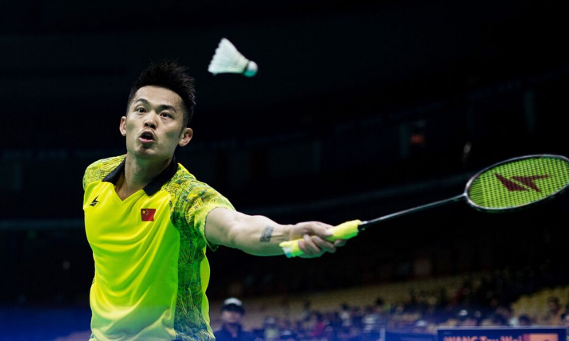 """Lin, who had something of a  """"bad boy"""" reputation during his younger days and has several tattoos — unusual for Chinese athletes — ends with 666 singles wins and a glut of medals. — AFP/File"""