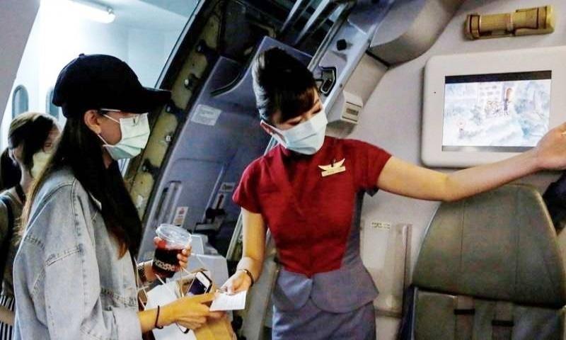 لاک ڈاؤن کے ستائے شہریوں کے لیے'جعلی پروازوں' کا اہتمام
