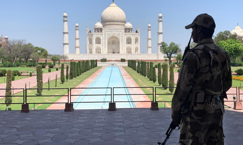 India to reopen Taj Mahal with social distancing, masks