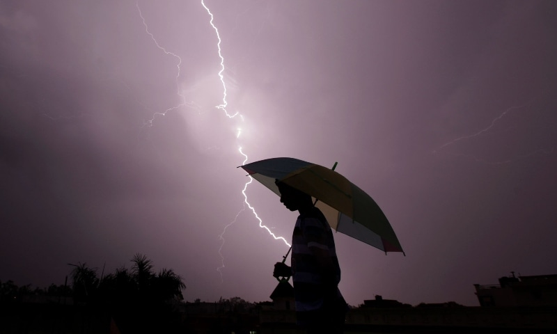 Lightning strikes during the annual monsoon that runs from June to September are fairly common in India. — AFP/File