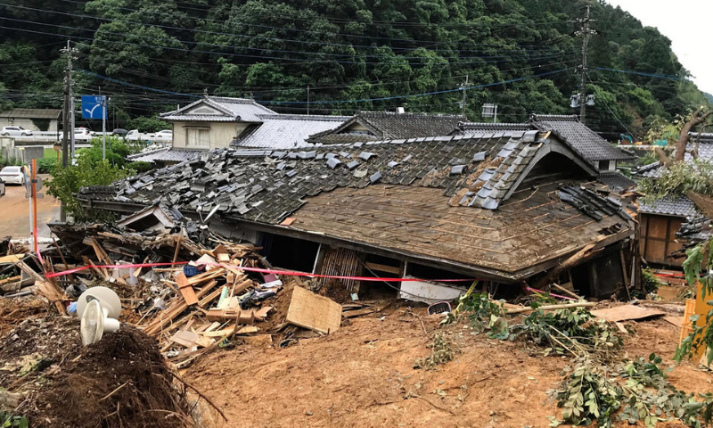 34 die as heavy rain causes floods, mudslides in Japan