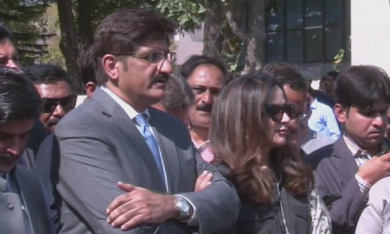 Sindh Chief Minister Murad Ali Shah was given a questionnaire when he last appeared before the anti-graft watchdog on June 4. — DawnNewsTV/File