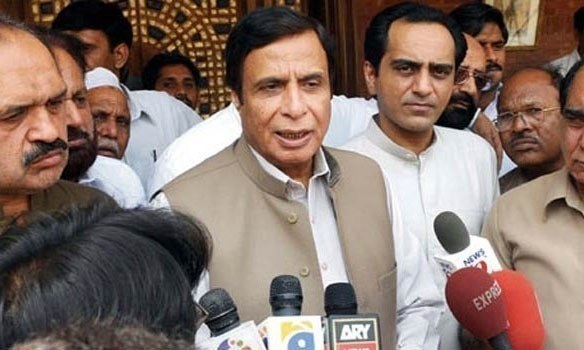 """Pakistan was created in the name of Islam,"" says Pervez Elahi. - APP/File"