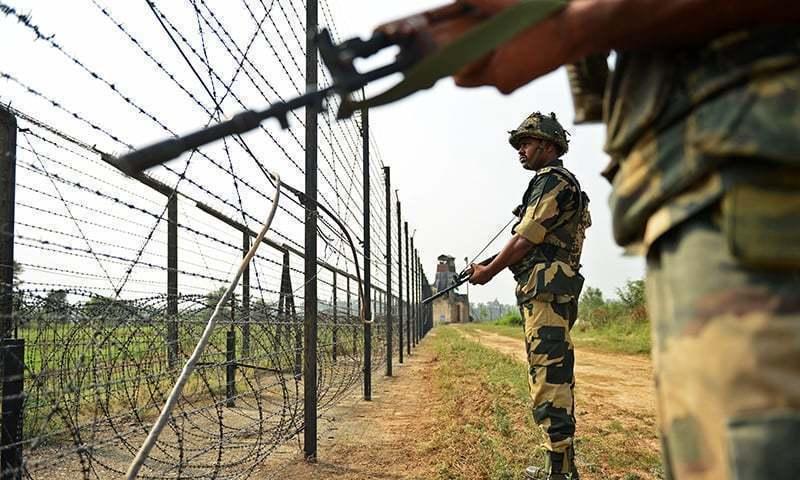 رواں سال اب تک بھارت کی جانب سے جنگ بندی کی ایک ہزار 595 مرتبہ خلاف ورزی کی جاچکی ہے—فائل فوٹو: اے ایف پی