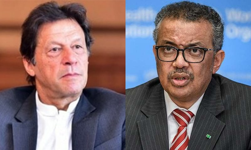 عمران خان نے عالمی ادارہ صحت کے ڈائریکٹر جنرل سے ویڈیو کانفرنس کے ذریعے بات کی — فائل فوٹو / اے ایف پی / وزیر اعظم انسٹا گرام
