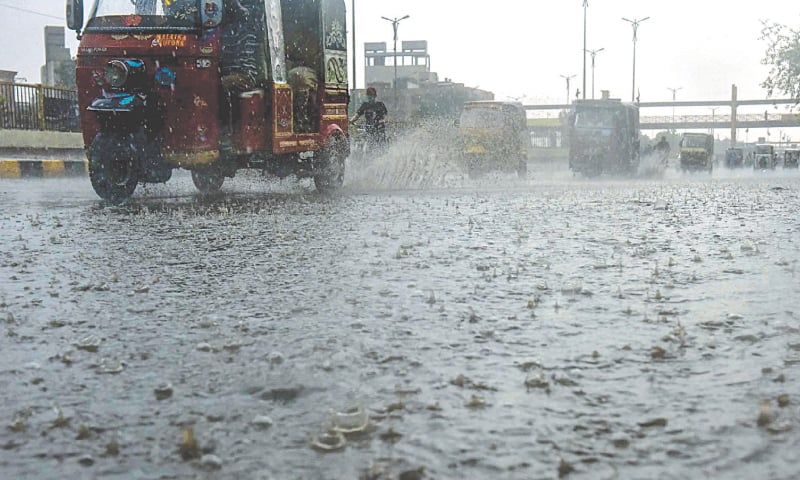 Six die as first spell of monsoon showers lash city