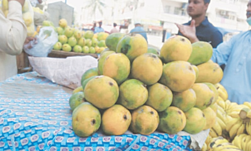 The mango export target for this season has been reduced by 40 per cent to 80,000 tonnes due to low production and impact of Covid-19 pandemic.