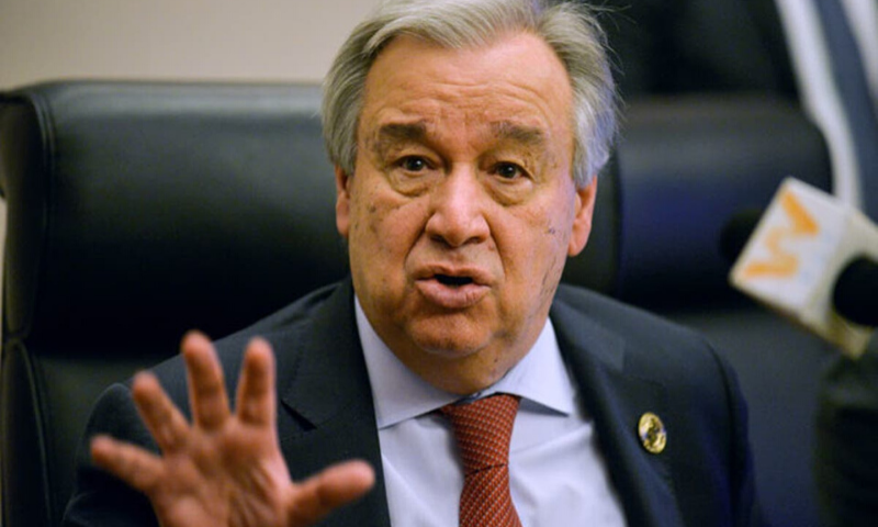 """""""Like the HIV epidemic before it, the Covid-19 pandemic is exposing our world's fragilities — including persistent economic and social inequalities and woefully inadequate investments in public health,"""" said UN Secretary General Antonio Guterres. — AFP/File"""