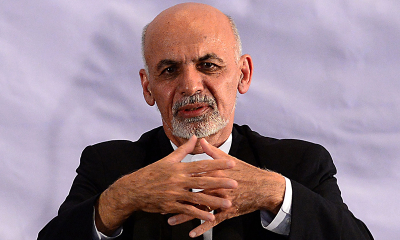 Afghan President Ashraf Ghani on Monday hosted the first of three online conferences aimed at briefing the global community on the expected peace talks. — AFP/File