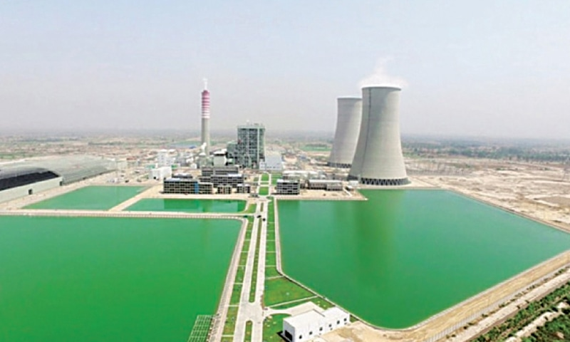 The 1,320MW Sahiwal coal power plant is seen in this file photo.
