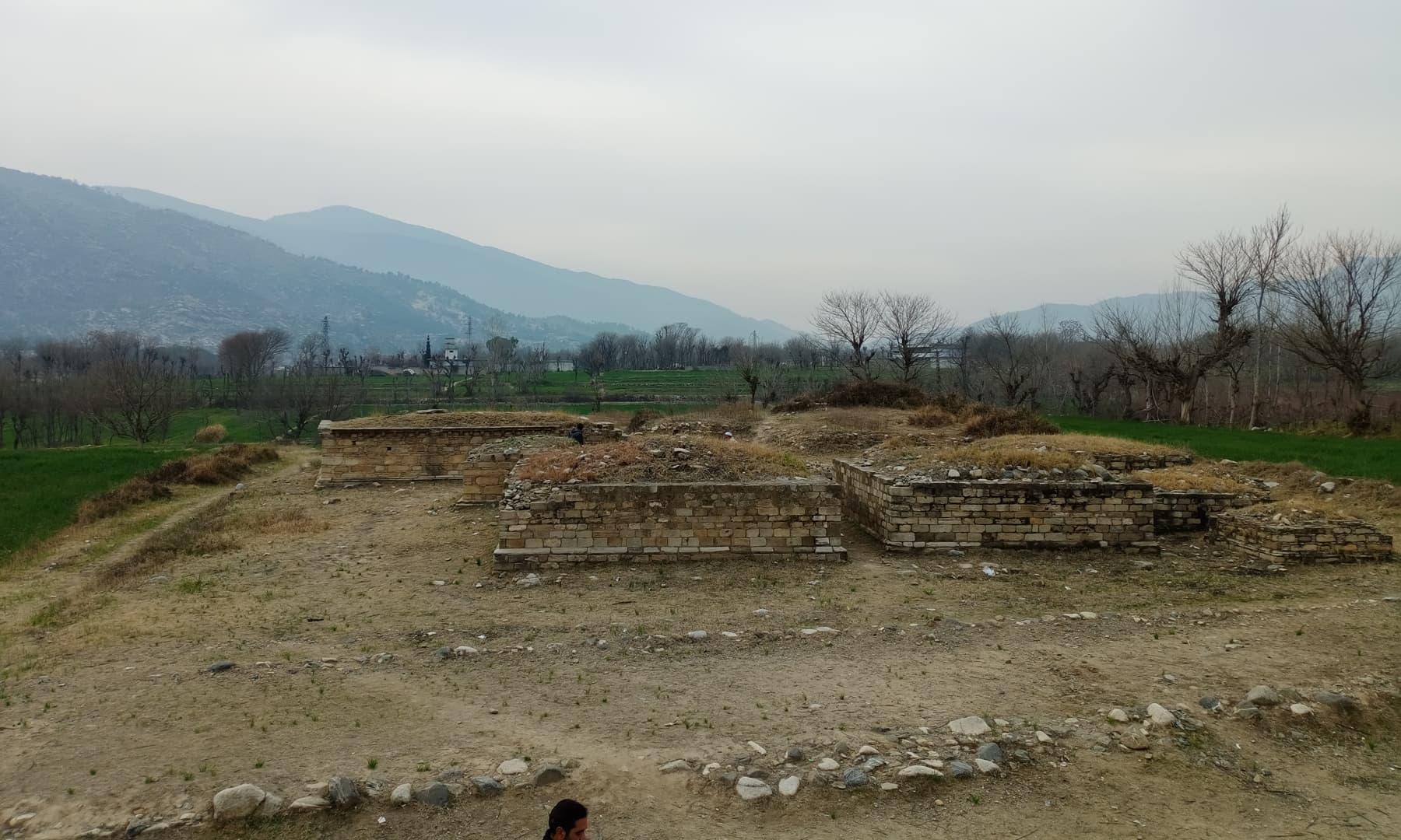 اندان ڈھیری کے آثارِ قدیمہ
