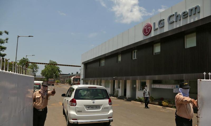 بھارت: ایل جی پولیمر میں گیس اخراج پر جنوبی کوریائی سی ای او سمیت 11 افراد گرفتار
