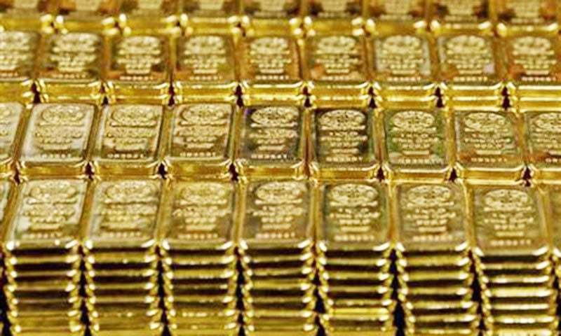 US gold futures rose 0.2pc to $1,814.10 per ounce. — File