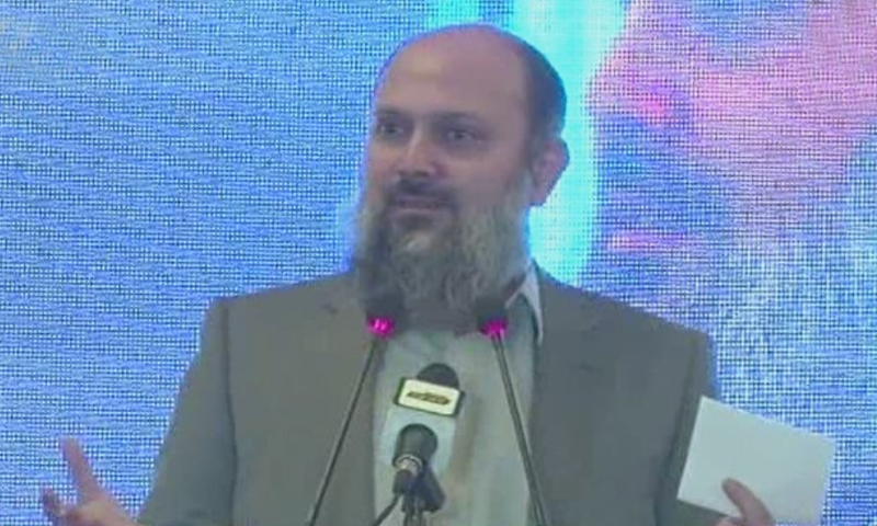 """The provincial government is keenly observing each and every development project,"""" says Balochistan Chief Minister Jam Kamal Alyani. — DawnNewsTV/File"""