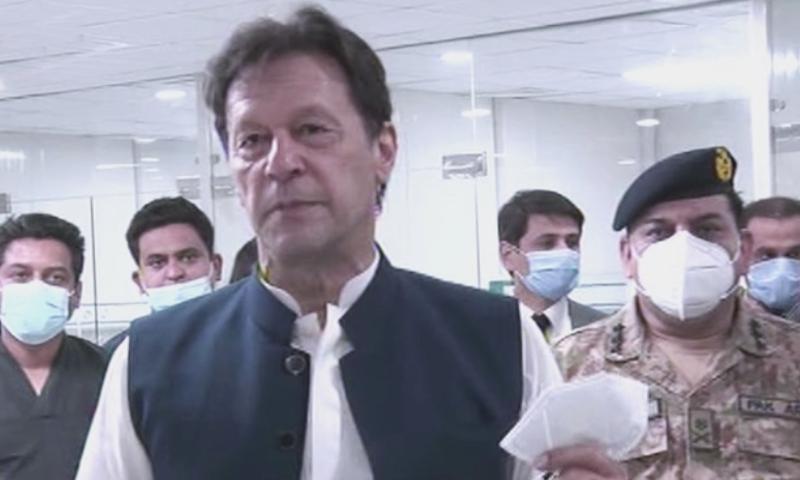 وزیراعظم نے کم عرصے میں ہسپتال تیار کرنے پر این ڈی ایم اے کو خراج تحسین پیش کیا—تصویر: ڈان نیوز