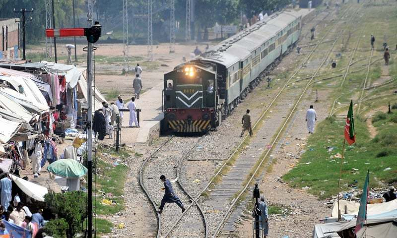 """There seems to be nothing in sight by which the operation of the railways in Pakistan could be improved,"" says top court. — Dawn/File"