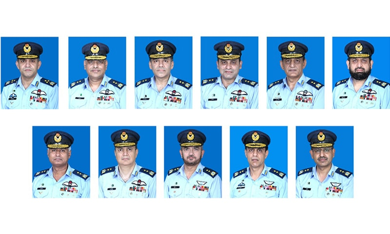 Promotions in PAF: one officer promoted as Air Marshal, 10 as Air Vice Marshal