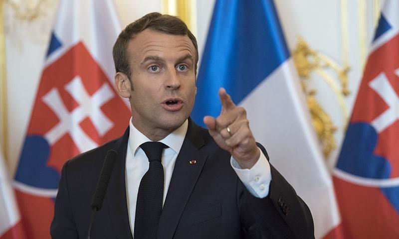 اسرائیل مغربی کنارے کو ضم کرنے کا منصوبہ ترک کرے، فرانس