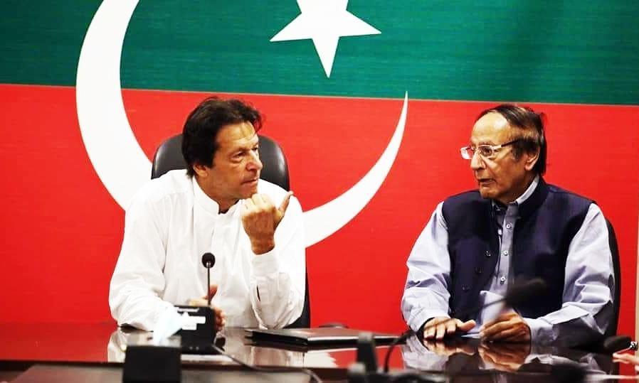 عمران خان کو معاملات افہام و تفہیم سے چلانے کا مشورہ دیا، چوہدری شجاعت — فائل/فوٹو:ڈان