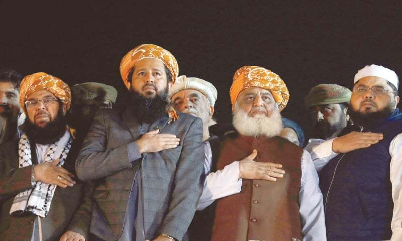 'PML-Q prevented use of force against Fazl's sit-in'