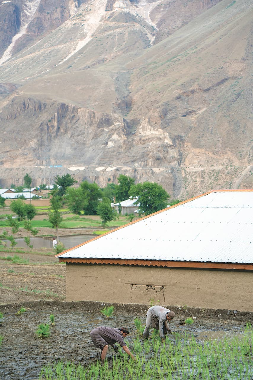 In the absence of tourism many locals have returned to farming | Amna Zuberi