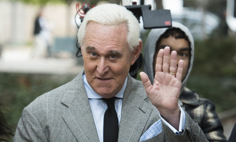 n this Nov. 7, 2019, file photo, Roger Stone arrives at federal court in Washington. — AP