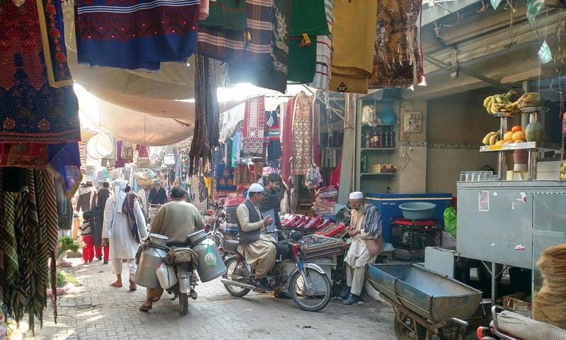 خیرپور کا شاہی بازار