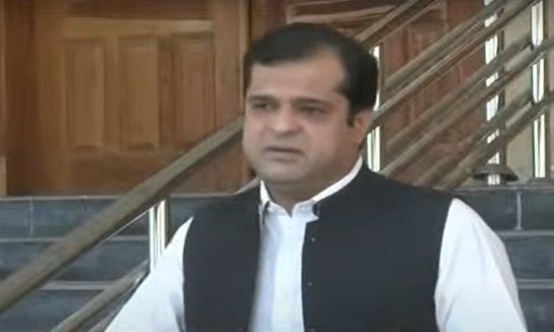 Liaquat Shahwani says 11,344 tests have been conducted in Balochistan from July 1 to 11 and only 681 people tested positive. — DawnNewsTV/File